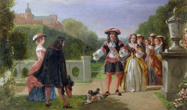 quadro con Cavalier King